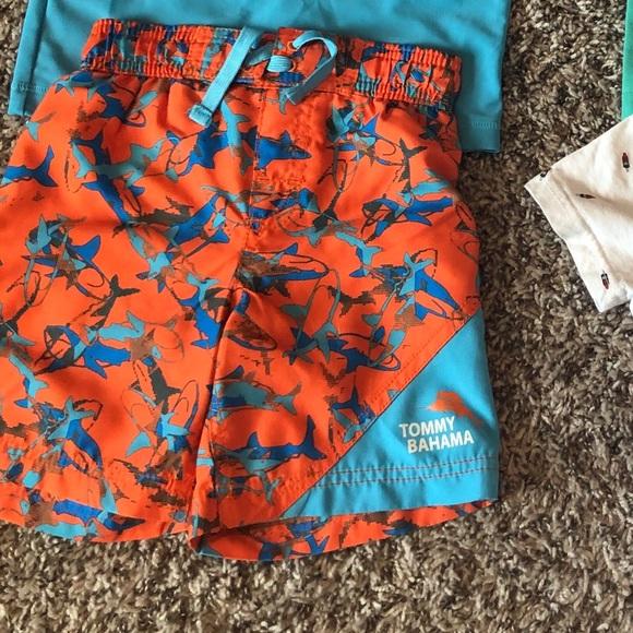 Tommy Bahama Boys Shorts Swim Trunks Magic Appearing Print